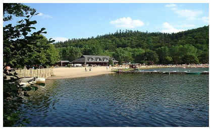 Lac chambon ce sainte marie clermont ferrand - Trampoline clermont ferrand ...