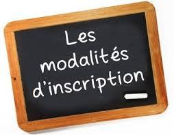 modalite d inscription